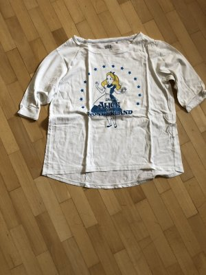 Alice in Wonderland Shirt mit 3/4 Armlänge