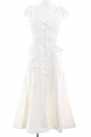 Alice McCall A-Linien Kleid creme 50ies-Stil