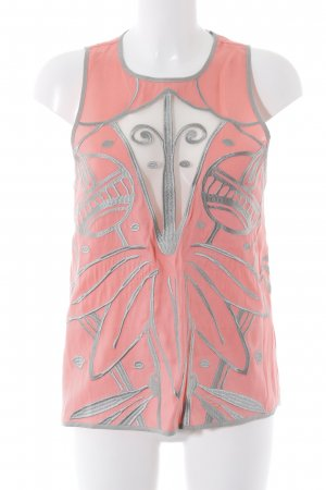 Alice McCall Longtop abstraktes Muster Boho-Look