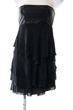 Alice + Olivia Bandeaukleid schwarz Elegant