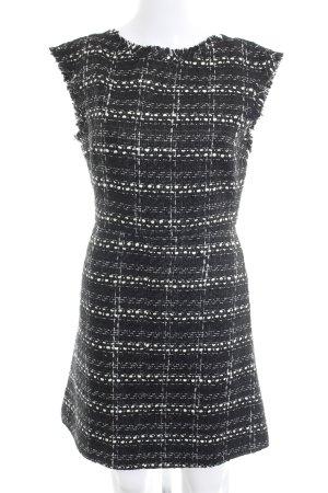 Alice + Olivia Sheath Dress anthracite-natural white classic style