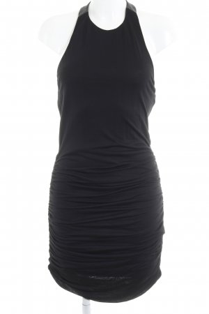 Alice + Olivia Halter Dress black party style