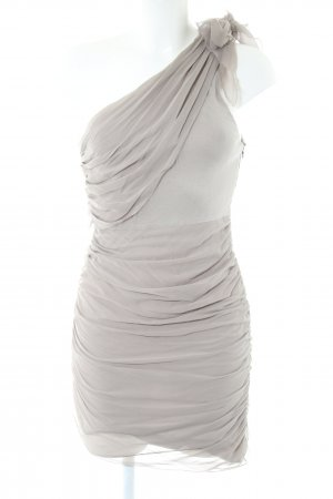 Alice + Olivia One Shoulder Dress light grey elegant