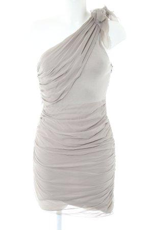 Alice + Olivia One-Shoulder-Kleid hellgrau Elegant