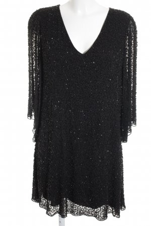 Alice + Olivia Pailettenkleid schwarz Elegant