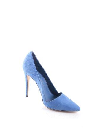 Alice + Olivia Spitz-Pumps blau klassischer Stil