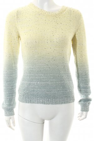 Alice + Olivia Knitted Sweater color gradient casual look