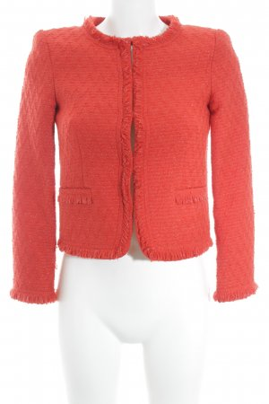 Alice + Olivia Blazer de lana rojo-color plata estilo «business»