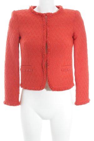 Alice + Olivia Blazer in lana rosso-argento stile professionale