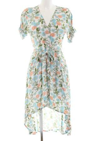 Alice's Pig Robe à manches courtes motif de fleur style romantique