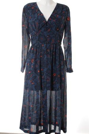 Alice's Pig Maxi Dress flower pattern vintage look