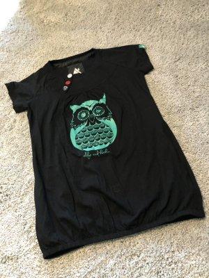 Alife & Kickin T-shirt zwart-groen