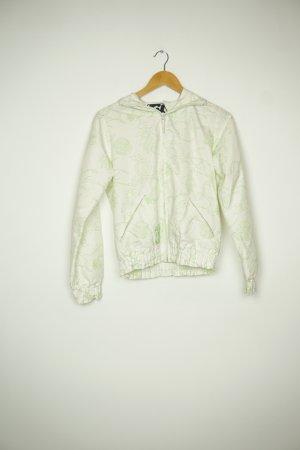 Alife & Kickin Giacca con cappuccio bianco sporco-verde chiaro