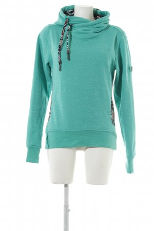 Alife & Kickin Hooded Sweater turquoise athletic style