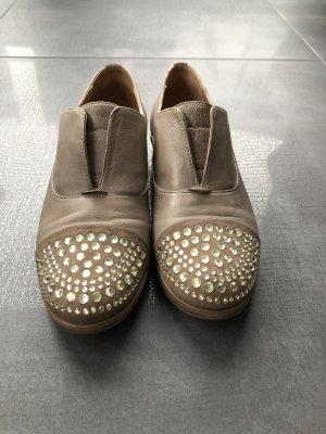 Alisha Zapatos sin cordones beige