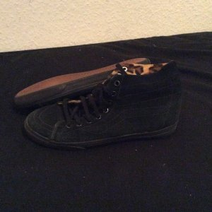 All Black Vans Winter Boots