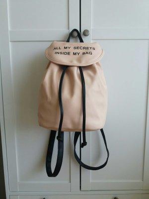 'All my secrets inside my Bag' Rucksack
