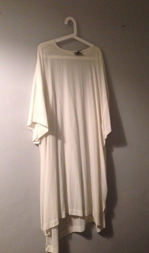 ALL SAINTS 100% Seide Oversize T-Shirt Kleid NP 250€ NEU M L 38 40 42