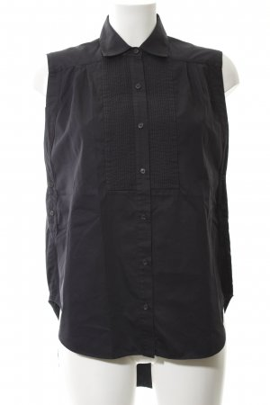 All Saints Sleeveless Blouse dark blue business style