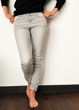 All Saints ASHBY Skinny Jeans - Woman - Light Grey - Gr. 27/32