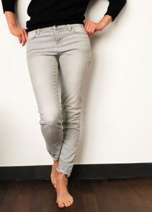 All Saints Jeans skinny grigio chiaro