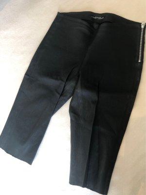 All Saints Pantalone in pelle nero Pelle