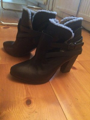 All Saints Boots mit Teddyfell / Gr.39