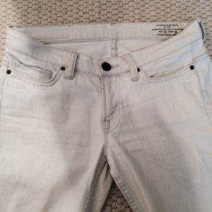 All Saints Distressed Jeans weiß 27