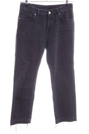 All Saints Jeans taille haute noir style décontracté