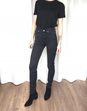 All Saints High Waist Skinny Jeans W26 cosy Clean Chic Rock 'n' Roll