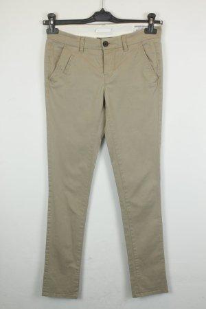 All Saints Pantalone chino beige Cotone