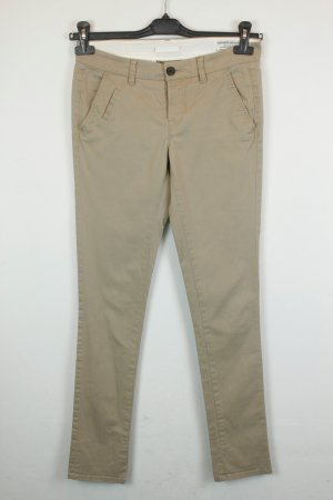 All Saints Hose Stoffhose Gr. US 2 / dt 34 beige | Modell: Filter Chino