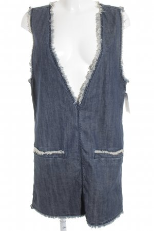 All Saints Jeanskleid kornblumenblau Boho-Look