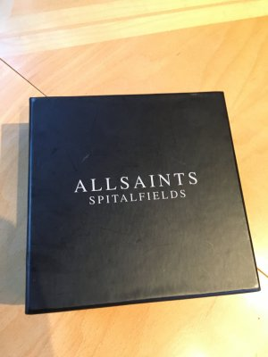 All Saints Wallet grey leather