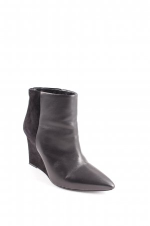 "All Saints Stivaletto con zeppa ""Manifesto Boots"" nero"