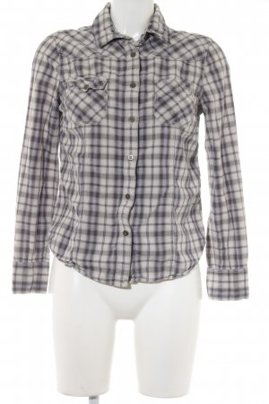 All Saints Langarm-Bluse Karomuster Casual-Look