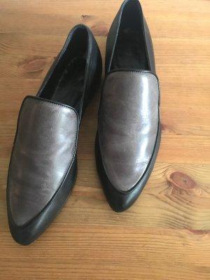 ALL SAINTS Loafers grau/schwarz