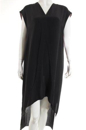 All Saints Robe longue noir-violet foncé style décontracté
