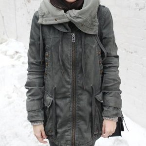all Saints pilgrim Parka wintermantel L spitalfields 14