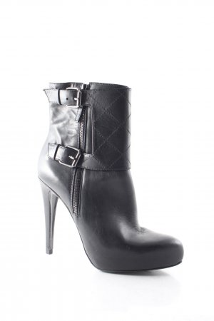 All Saints Plateau-Stiefeletten schwarz Eleganz-Look