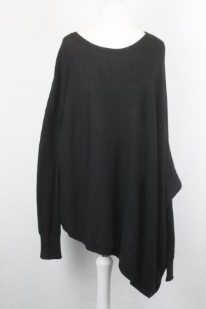 All Saints Pull en laine noir laine mérinos
