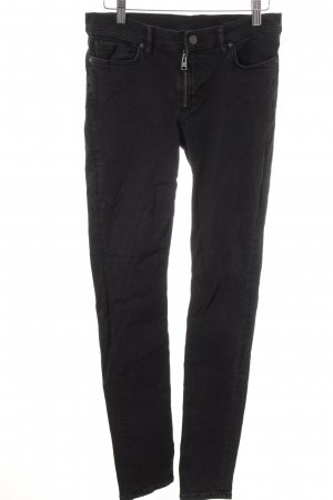 All Saints Jeans cigarette noir style simple