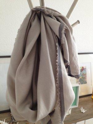 All saints scarf Premium Qualität wild Seide und ecru