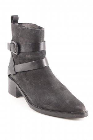 All Saints Bottines à enfiler noir style décontracté