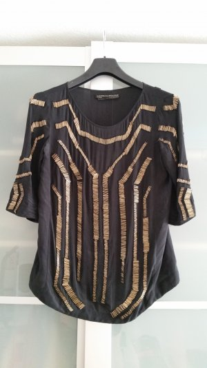 All Saints Shirt aus Seide Gr M
