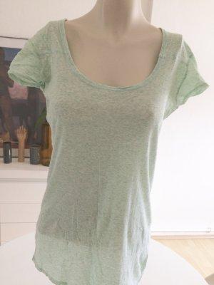 All Saints Shirt grijs-groen