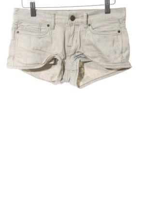 All Saints Shorts creme Bleached-Optik