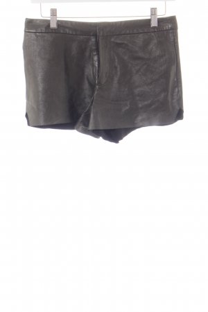 All Saints Shorts negro-color plata look Street-Style