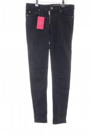 All Saints Skinny jeans zwart casual uitstraling