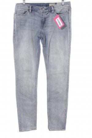 "All Saints Jeans skinny ""Ashby"" blu"
